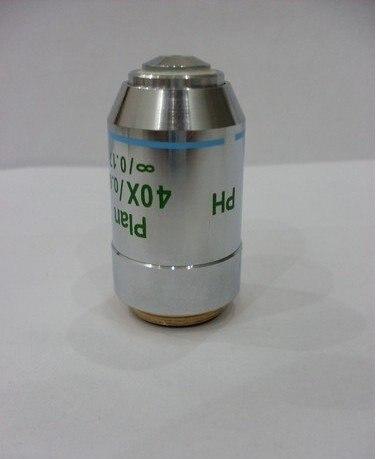 Aletler'ten Mikroskoplar'de Yeni 40X PH renksiz INFINITY Plan mikroskop objektif Lens title=