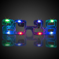 2018 Led Glass Light Up Glasses For 2018 New Year Graduation 2018 High Quality AG3 Battery