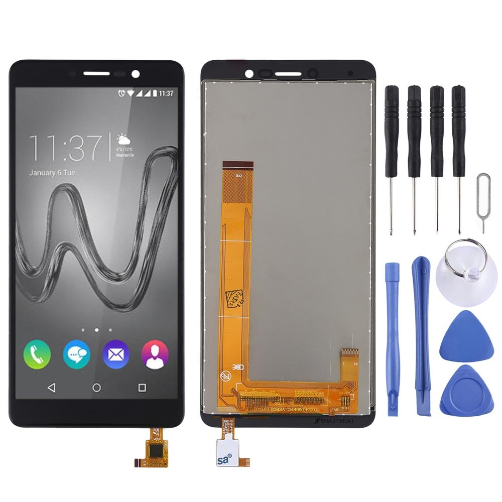 LCD Screen and Digitizer Full Assembly for Wiko Tommy 3LCD Screen and Digitizer Full Assembly for Wiko Tommy 3
