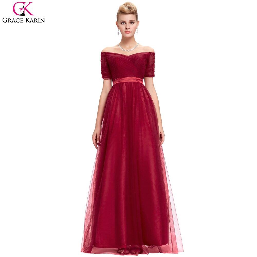 Черные красные длинные платья