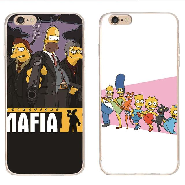 coque galaxy s6 simpson