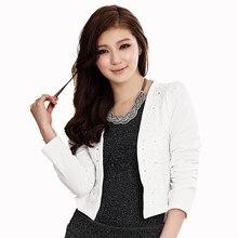 Short Rhinestone Spring Coat Women Elegant Slim Sequin Jacket Fashion Korean  Style Cardigan Bolero Cape Womens Coats Wd60039 16931e7e4fb2