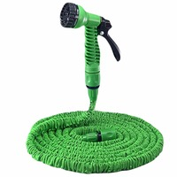 125FT Expandable Garden Hose Thread Expanding Magic Flexible Car Wash Watering Hose Plastic Hose Pipe With Spray Gun Tube Hose 2