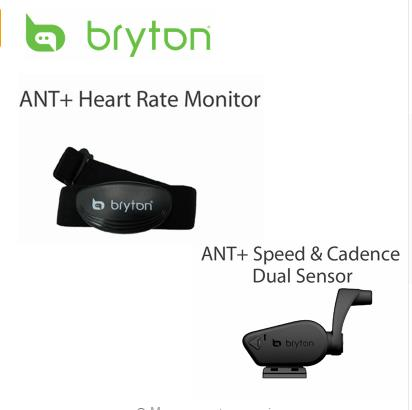 Bryton Bicycle Computer Heart Rate Belt / Speed & Cadence combo Sensor for Bryton 310 330 530 Garmin 200 520 820 iGPSPORT xcadey bicycle power meter crank power meter bicycle gps computer garmin edge bryton igpsport support ant bluetooth