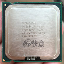 Intel Core2 Duo Processor E6700(4M Cache, 2.66 GHz, 1066MHz) Dual-Core CPU LGA775 Desktop Processor AliExpress Standard Shipping(China)