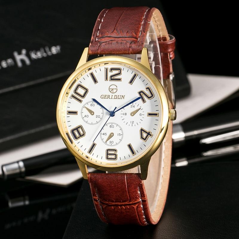 Nieuwe mode Genève Dames Horloges Polshorloge Herenhorloge Sport - Herenhorloges