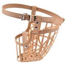 7 Sizes Plastic Dogs Muzzle Basket Design Anti-biting Adjusting Straps Mask Hotsale