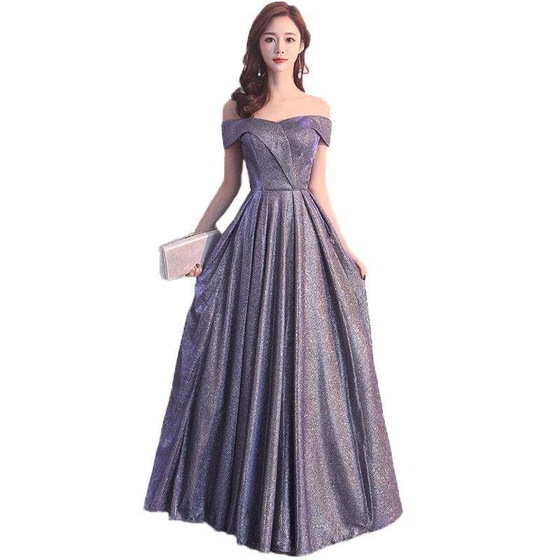 Women Summer Dress Slim Elegant Bridesmaid Ball Gwon Long Party Dress Female Formal Sexy Off Shoulder
