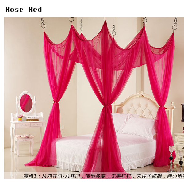Exceptional Beautiful Bed Net Mesh Room Decoration Netting Pink Purple Bed Canopy  Luxury Princess Home Decoration Mosquito Net In Mosquito Net From Home U0026  Garden On ...