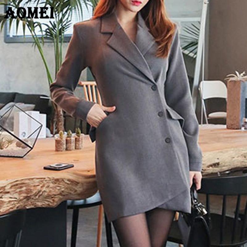 Women Turn Down Collar Half Sleeve Blazer Dress Women Ol Elegant Patchwork Lace Dresses Vestidos Dresses