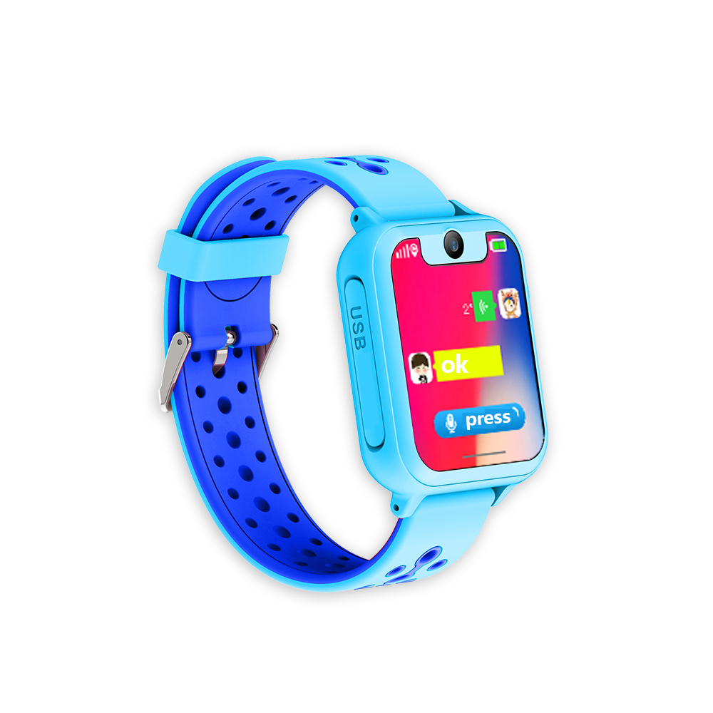 Gps Kids Tracker S6 Kids Smart Watch Small Gifts with Food Grade Silicone