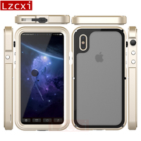Lzcxi Case For IPhone X Waterproof Case Beach Swimming Diving Dirt Dust Water Proof Phone Cover
