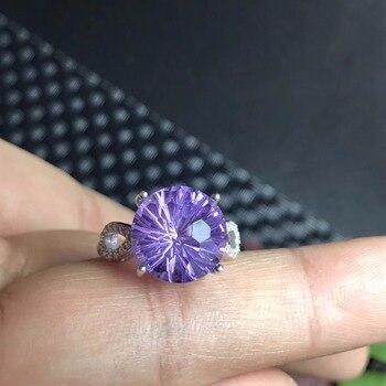 Fine Jewellery Natural Topaz Beautiful Cutting Process Ring6