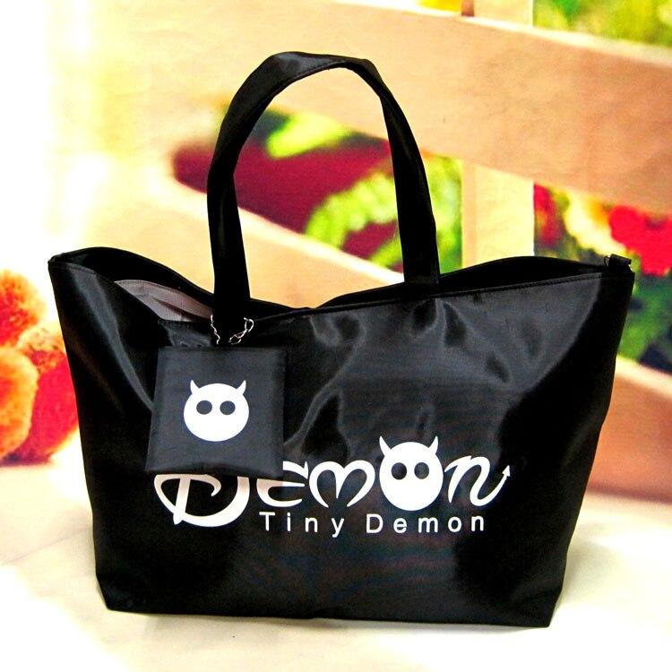 Women Shopping Handbag - Waterproof Shopping Tote Zipper One shoulder bag 3