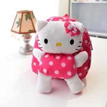 Hello kitty plush backpack toys hobbies children backpack dolls stuffed mickey toys plush school backpack girls mochila