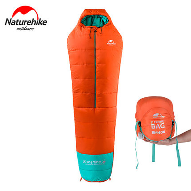 NatureHike Outdoor Ultralight Mummy Sleeping Bag with Zipper 3 Season Backpacking Hiking Camping Sleeping Bag mummy sleeping bag for cold weather outdoor equipment sleeping gear hiking backpacking camping sleeping bags