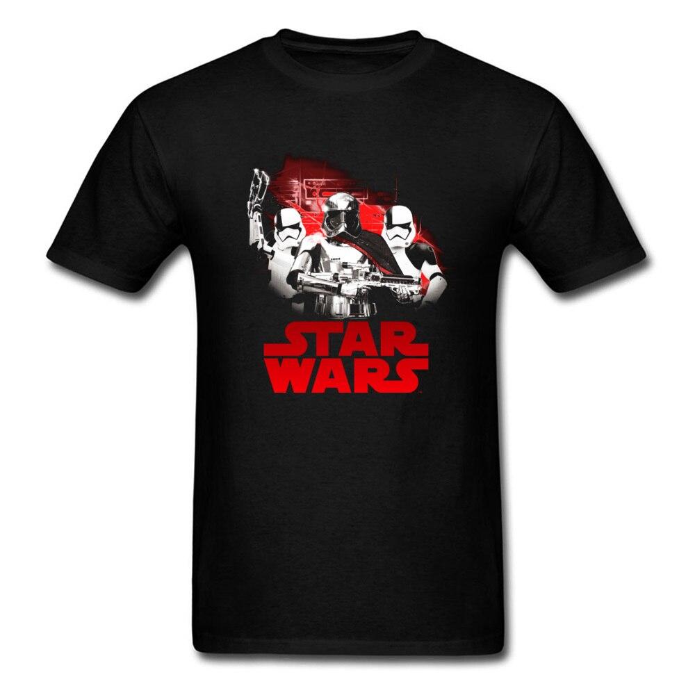 80s Star Wars Phasmas Enforcement 2018 Men Black T Shirt Cotton O Neck Short Sleeve Summer T-shirt Mens Team Tops Tees ...
