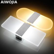 25CM New store promotion LED wall light living sitting room foyer bedroom bathroom modern wall sconce light square LED wall lamp