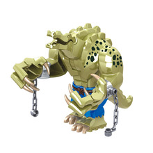 Avengers 4 Endgamer Action Figure Crocodile Thanos Hulk Blocks Compatible with Marvel Toy