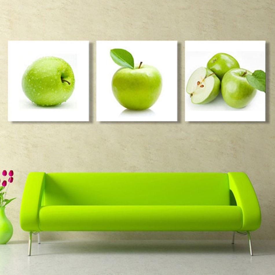Online kopen Wholesale schilderij keuken groen uit China ...