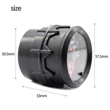52MM 2Inch 10000 RPM Universal Electrical Car Tacho Gauge Meter Tachometer with Seven Color Backlight for 12V