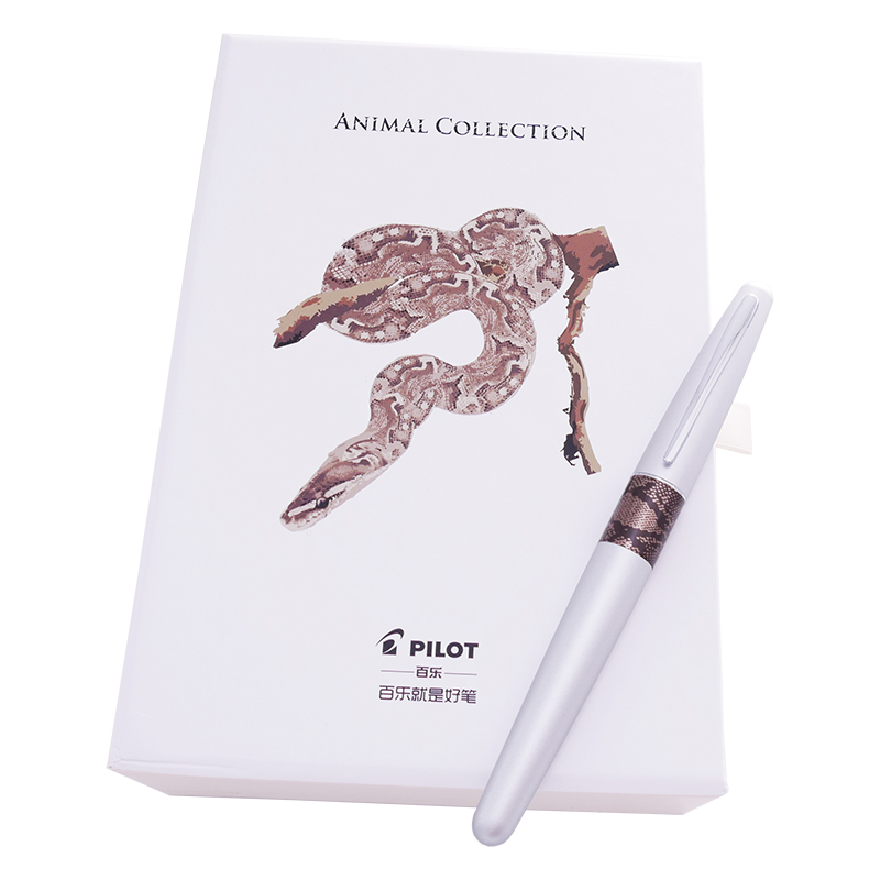 Image 5 - Pilot JAPAN 88G MR2 Set ink metal fountain pen stainless steel animal-in Fountain Pens from Office & School Supplies