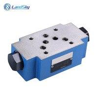Válvula hidráulica válvula de controle direcional hidráulica Sobreposta Z2S10-3X de válvula de controle hidráulico