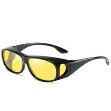 Night Vision Goggles Anti Glare Driving Sunglasses Men Women Driver Yellow Lens Safety Protection Eyewear UV400 стоимость