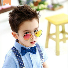 HJYBBSN Pilot Kids Sunglasses Vintage Mirror Photochromic Dr