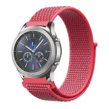 22mm 20mm Gear S3 Strap for Samsung Galaxy Watch 42mm 46mm band Frontier Classic active sport nylon loop for Samsung S3 S2 s3 frontier classic 22mm 20mm stainless steel watch band milanese loop watch strap quick release pins for samsung gear s3 s2