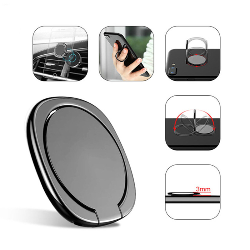 General Phone Finger Ring Holder 360 Degree Stand For Samsung Xiaomi iPhone X 7 6 55 5S Pl