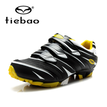 TIEBAO Road Racing TPU Soles Mountain Biking Shoes Cycling Sport Breathable Athletic MTB Cycling Shoes Sapatilha Ciclismo Mtb