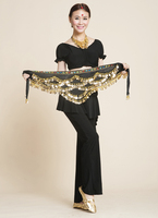 2014 Newest Multi Color Beautiful Danse Du Ventre Belly Dance Dancing Waist Chain Hip Scarf Costume