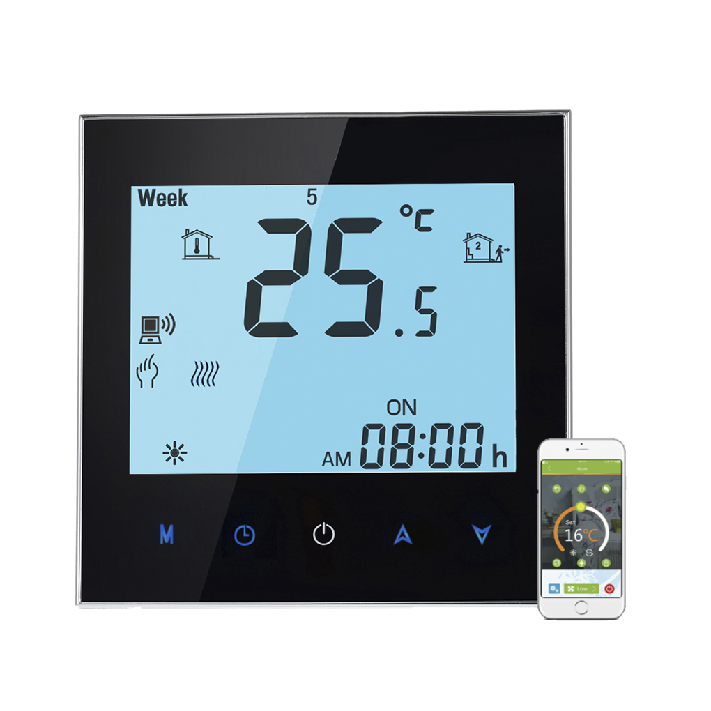 Touchscreen Weekly Program WiFi Control Thermostat Electric Heating Temperature Controller 16A Remote Control taie thermostat fy400 temperature control table fy400 301000