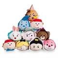 Tsum Tsum Alice in Wonderland Queen of Hearts Tweedle Dum Caterpillar Mad Hatter Plush Kids Stuffed Toys Smartphone Cleaner