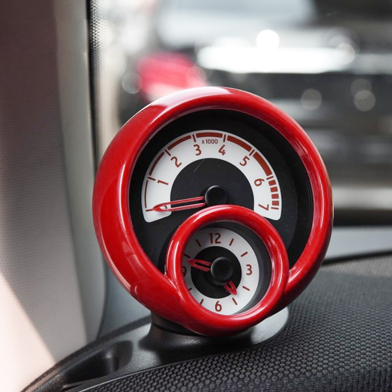 Car Modification accessories Instrument panel tachometer decoration Sticker for new smart 453 fortwo forfour Interior styling-in Car Stickers from Automobiles & Motorcycles