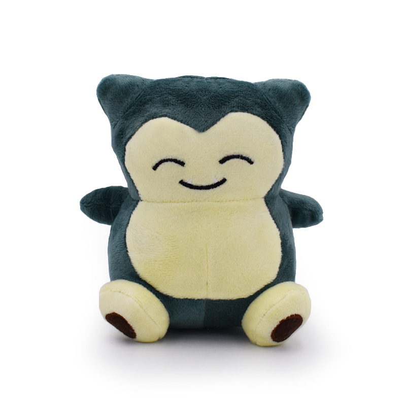 Snorlax Plush Peluche Toy Dolls Stuffed Soft 15cm Great Gift For Birthday Free Shipping toys for children dolls girls plush snorlax model birthday gifts cross stitch knuffel doudou stuffed animals soft toy 70a0513