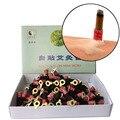 Alta qualidade de auto-stick Moxa Sem Fumaça tubo tubo 180 pcs varas moxa moxabustão acupuntura massagem