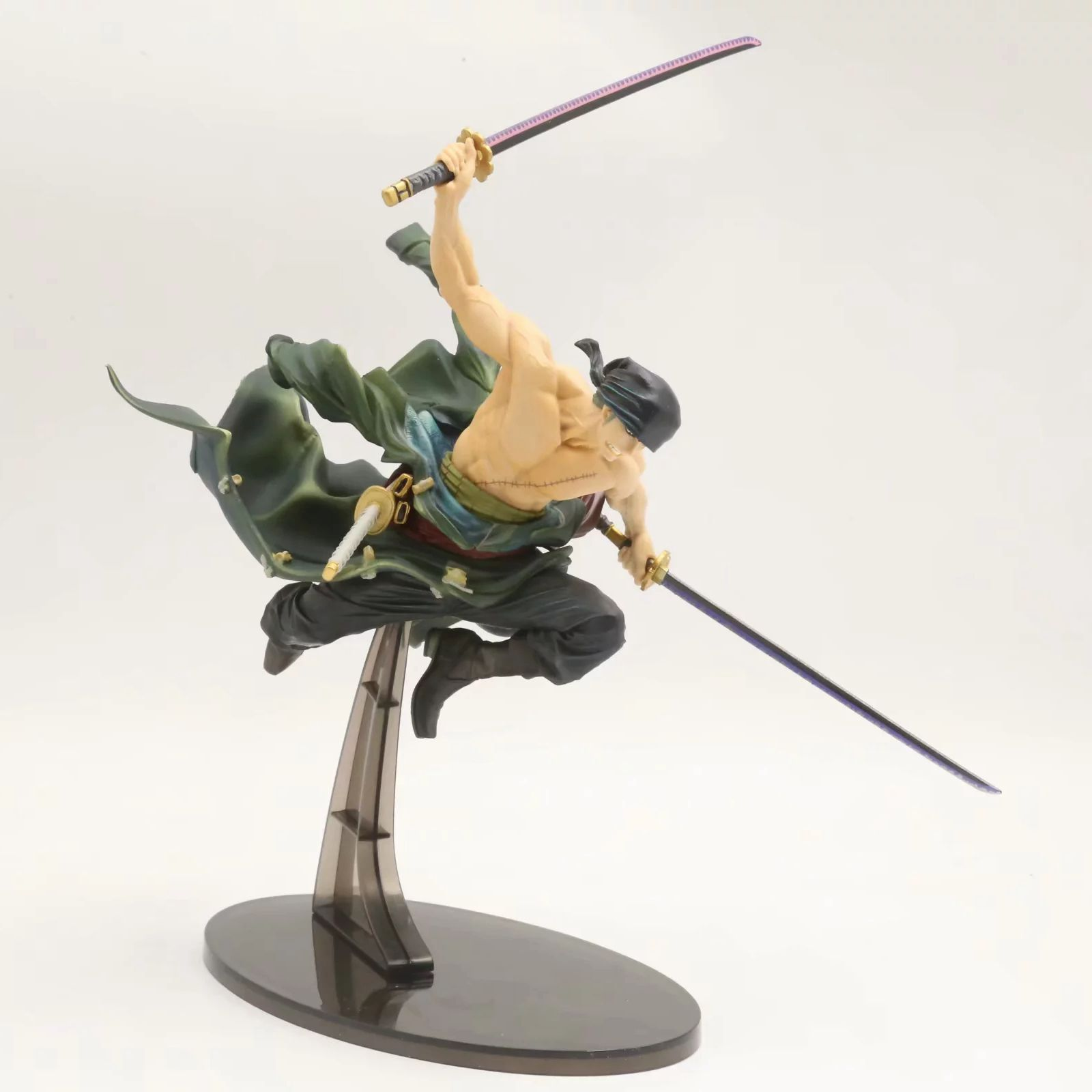 Anime One Piece 26cm BWFC Champion Roronoa Zoro Action Figure Collection Model Toys