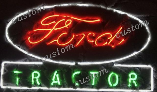 Custom FORD TRACTOR Beer Bar Neon Light Sign