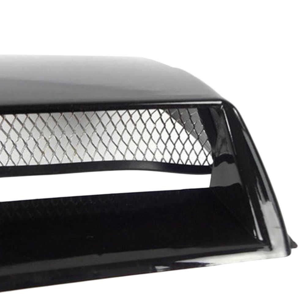 2 цвета автомобиля Стайлинг Универсальный декоративный воздушный поток Впускной Совок турбо воздухозаборник крышка капот углеродного волокна/черный горячий