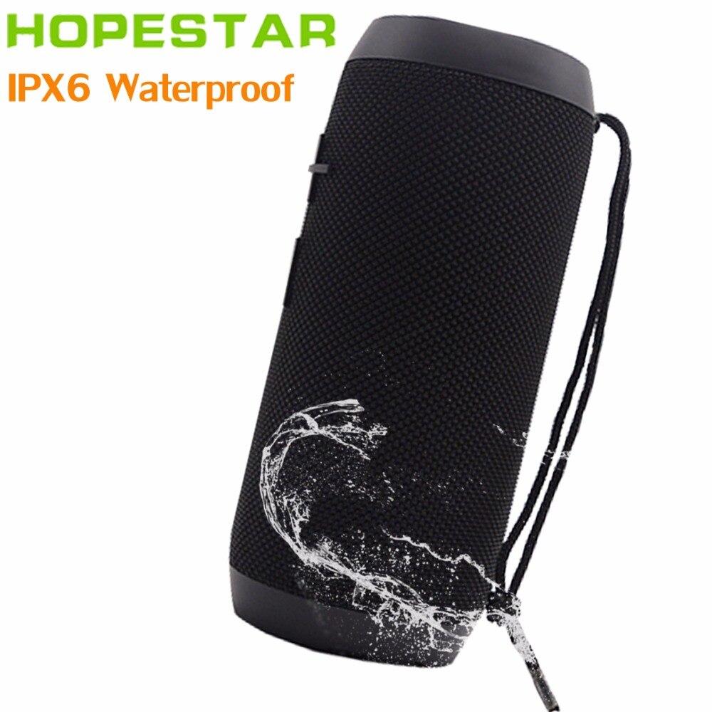 HOPESTAR P7 Portable Wireless WaterProof Bluetooth Speaker IPX6 Column Box Bass Mini Subwoofer Stereo Loudspeaker Charge Mobile