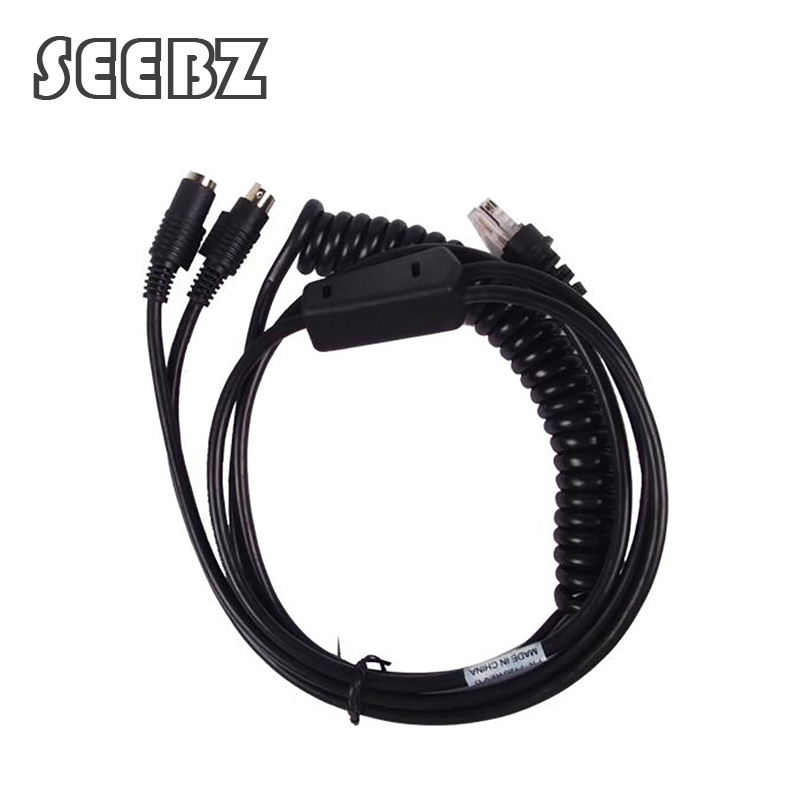 SEEBZ 3M PS2 Keyboard Wedge to RJ45 Cable for Honeywell Metrologic MS7120 MS6520 MS7220 MS9540 MS9520 BarCode Scanner honeywell metrologic ms7580 genesis 1d pdf 2d usb