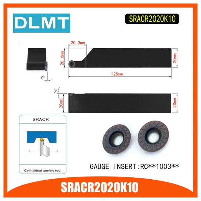 SRACR2020K10 Externe Drehen Werkzeug Halter Für RCMT1003 Verwendet auf CNC Drehmaschine Maschine