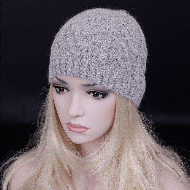 2016 Adulto Invierno lana Sombrero y tapas de Las Mujeres y de Los Hombres de lana Skullies Gorros sombrero contrajo color Sólido de lana de punto cap