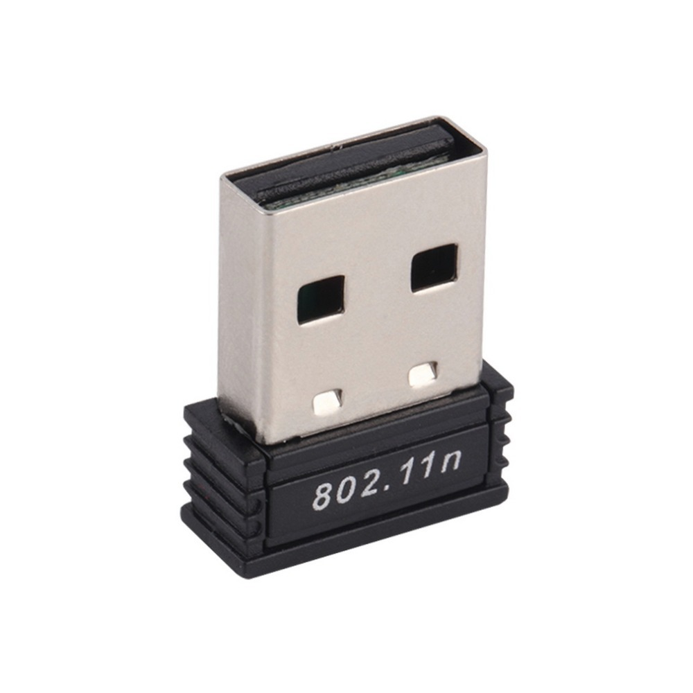 1pc Mini USB Wireless Wifi Adapter Dongle Receiver Network LAN Card PC 150Mbps USB 2.0 Wireless Network Card