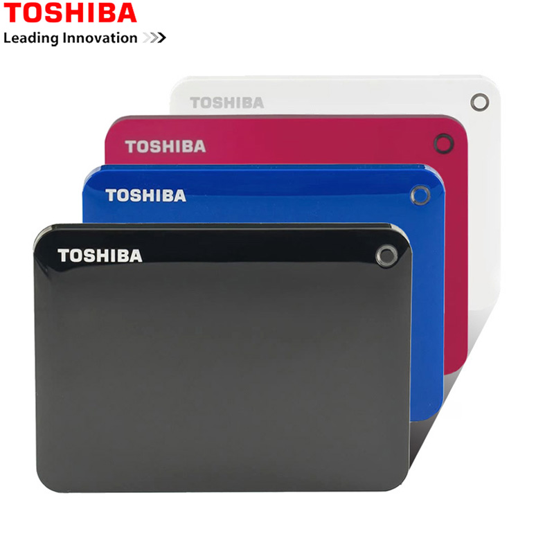 Toshiba External-Hard-Drive-Disk Computer 3tb Hdd Laptop Mobile Portable 2TB Usb-3.0