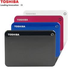 Toshiba Canvio передовые V9 USB 3,0 2,5 1 ТБ 2 ТБ 3 ТБ 4 ТБ HDD Портативный внешний жесткий диск мобильный 2,5 для портативных компьютеров