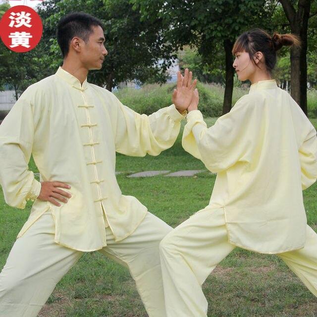 Китайский кунг-фу Тай-Чи одежды боевых искусств производительность единая утренние упражнения тайцзицюань одежда мужчины женщины ребенок костюм