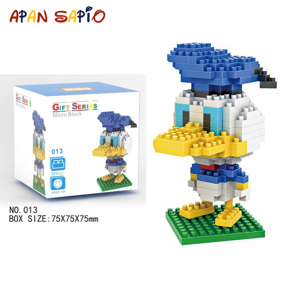 Mini Building Blocks Brick Toys Cartoon character Model Educational Blocks Toys for Children Compatible LegoeING
